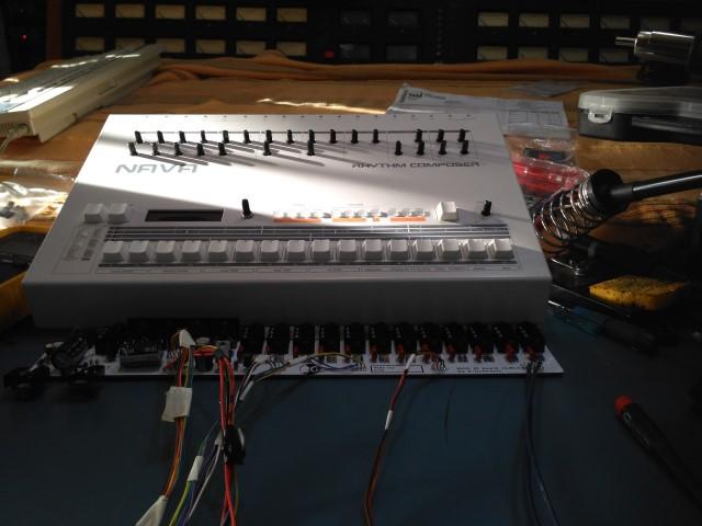 Nava DIY 909 clone assembling